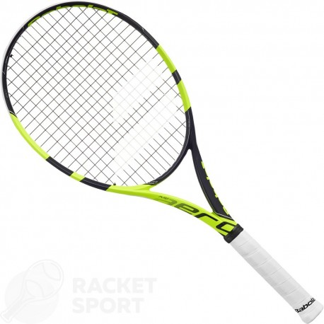 Ракетка для тенниса Babolat Pure Aero (300g, 100 sq.in.) Yellow Black