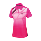 Gail Womens Polo Pink Glo